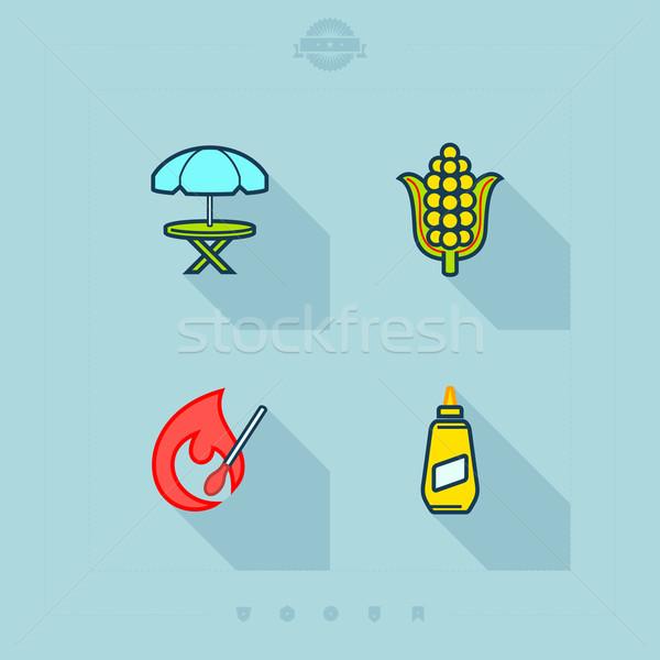 Barbecue Stock photo © Vectorminator