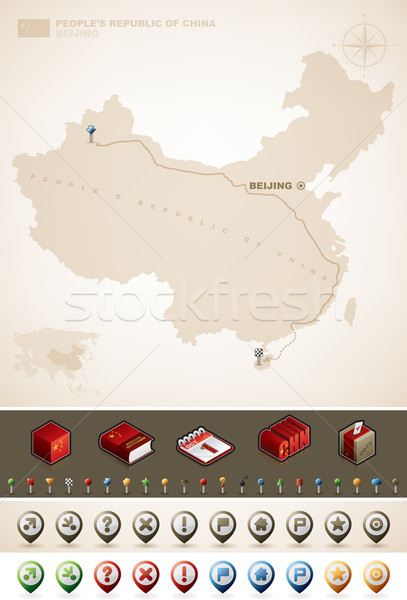 People's Republic of China Stock photo © Vectorminator