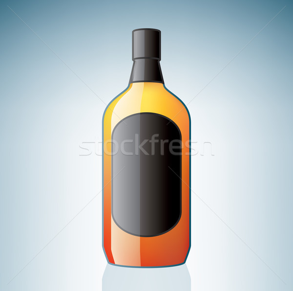 Gin Bottle Stock photo © Vectorminator