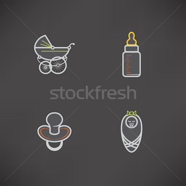 Baby nato sicuro ragazzi giocattoli ecco Foto d'archivio © Vectorminator