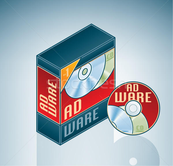Adware Software Bundle Stock photo © Vectorminator