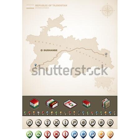 Hong-Kong spéciale administrative Asie cartes Photo stock © Vectorminator