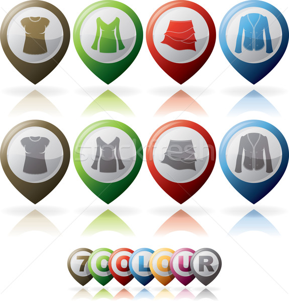 Womans Clothing Stock photo © Vectorminator