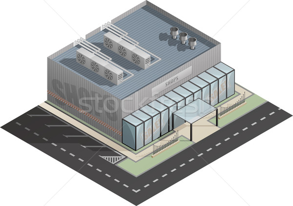 Building Stock photo © Vectorminator