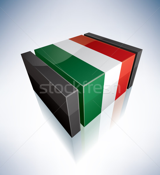 3D flag of Hungary Stock photo © Vectorminator
