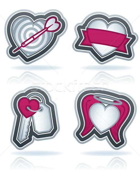 Valentines Hearts Stock photo © Vectorminator
