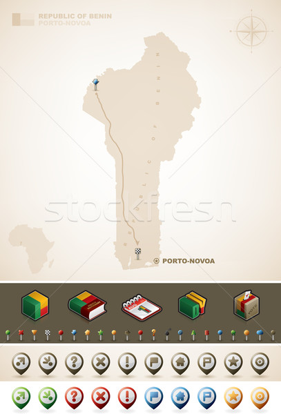 Benin Stock photo © Vectorminator