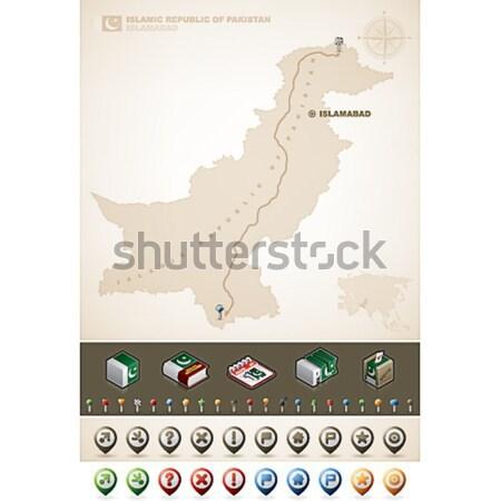 Того республика Африка карт дополнительно Сток-фото © Vectorminator