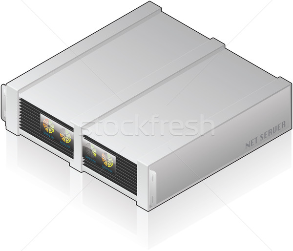 Server Unit Stock photo © Vectorminator