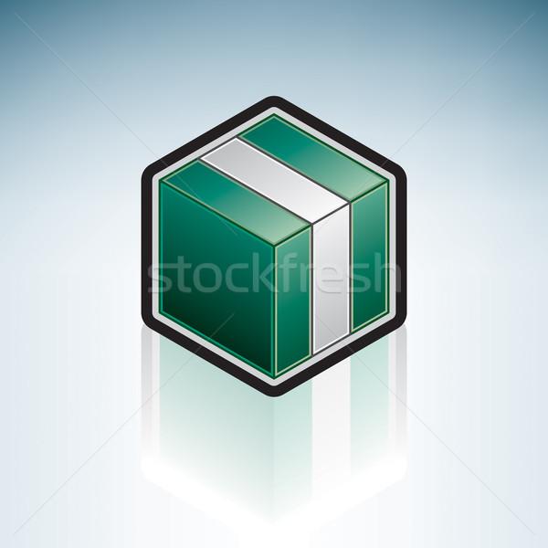 Nijerya Afrika bayrak federal cumhuriyet 3D Stok fotoğraf © Vectorminator