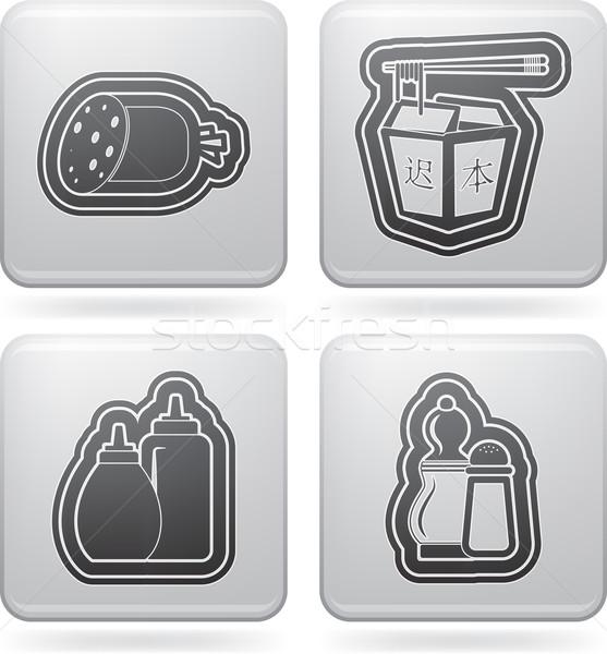 Drink & Food Stock photo © Vectorminator