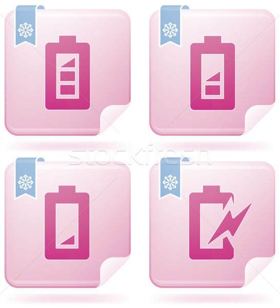 Display Phone Icons Stock photo © Vectorminator