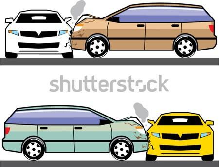 Vagon illusztráció clipart kép autómobil technológia Stock fotó © vectorworks51