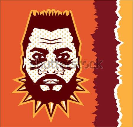 Perro vector icono ilustración clipart imagen Foto stock © vectorworks51