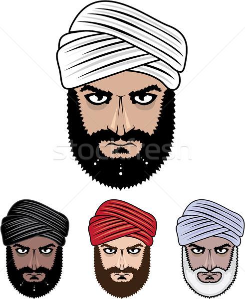 アラブ ムスリム 男性 ベクトル 画像 eps ストックフォト © vectorworks51