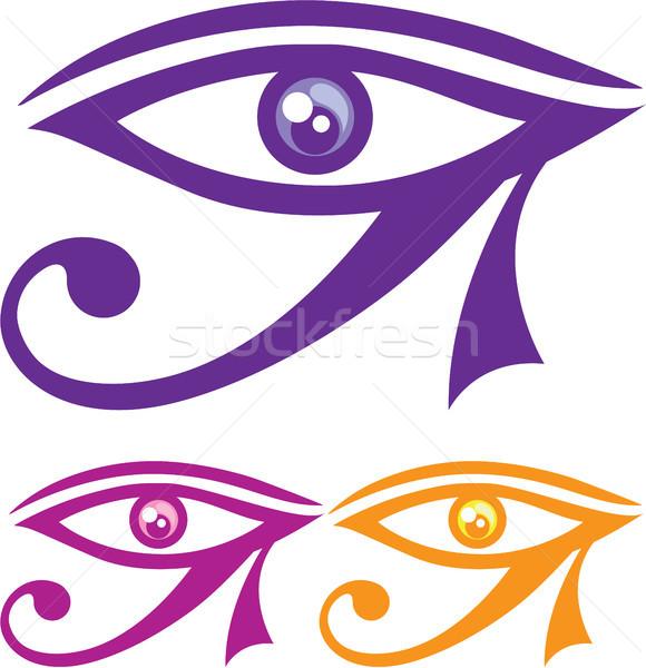 Eye of Horus vector eps clip-art image Stock photo © vectorworks51