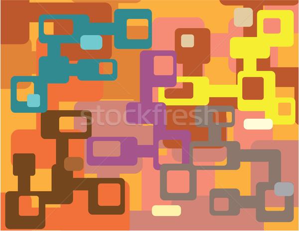 Oneven clipart afbeelding eps kunst Stockfoto © vectorworks51