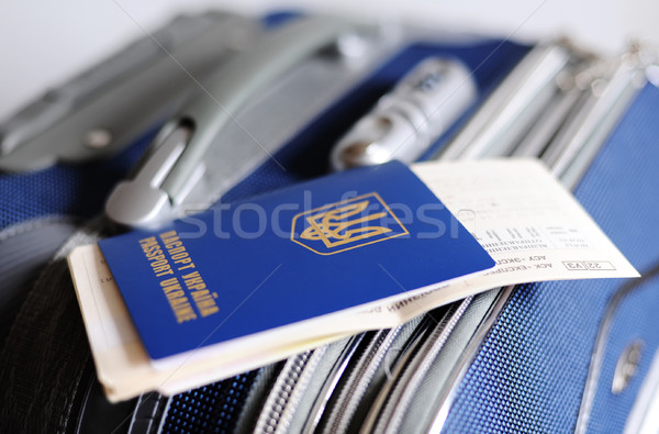 Passport Stock photo © velkol