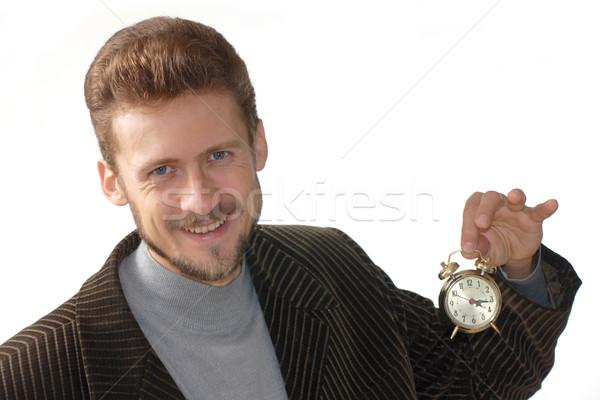 Time in hand Stock photo © velkol