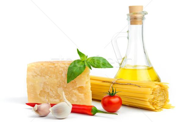 基本 材料 イタリア語 スパゲティ パスタ ストックフォト © velkol