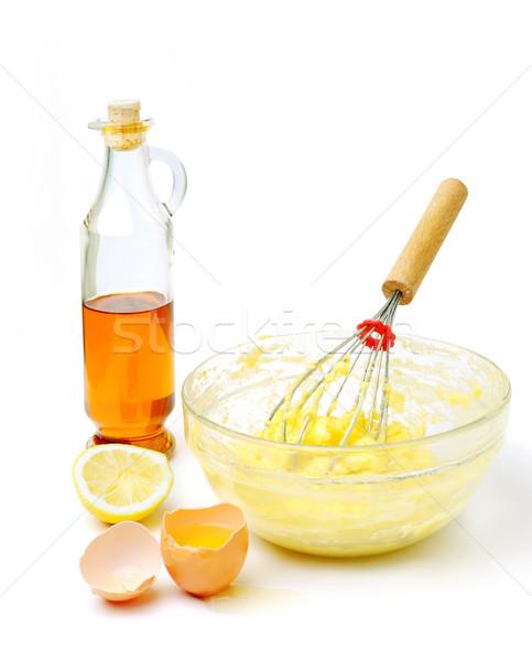 Mayonez görüntü ürünleri beyaz gıda ışık Stok fotoğraf © velkol