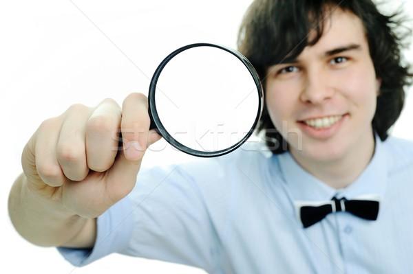 Magnifier Stock photo © velkol