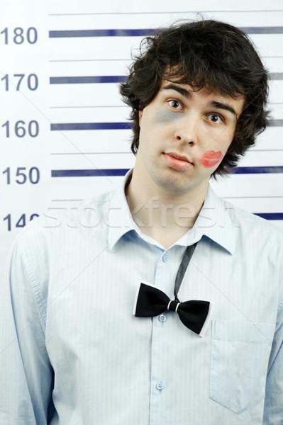 Immagine giovane carcere uomo ragazzo Foto d'archivio © velkol