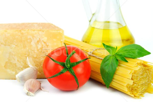 Ingredients for italian cousine Stock photo © velkol