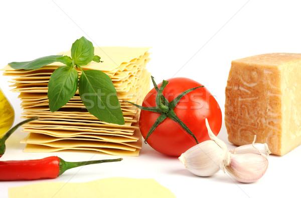 Mediterranian food Stock photo © velkol