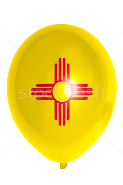 шаре флаг американский Нью-Мексико счастливым Сток-фото © vepar5