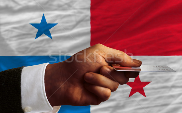 buying with credit card in panama Stock photo © vepar5