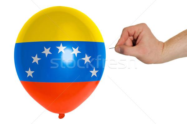 Balon renkli bayrak amerikan Vermont pop Stok fotoğraf © vepar5