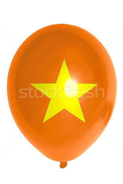 Ballon pavillon Viêt-Nam heureux Voyage Photo stock © vepar5