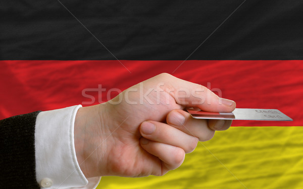 buying with credit card in germany Stock photo © vepar5