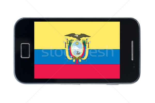 smartphone national flag of ecuador    Stock photo © vepar5
