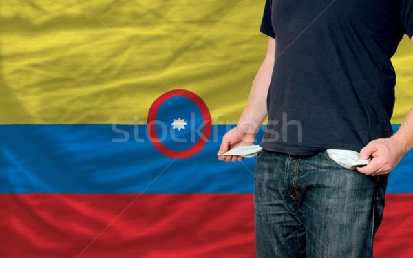 Récession jeune homme société pauvres homme Photo stock © vepar5