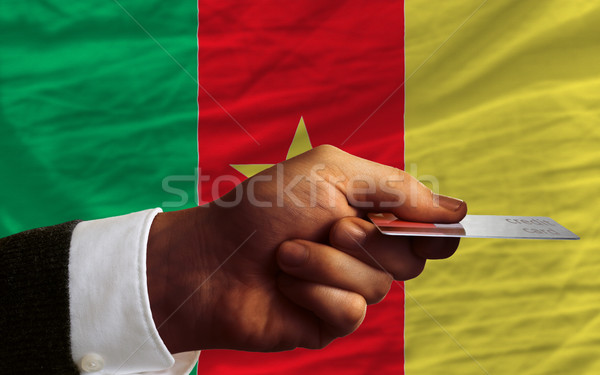 buying with credit card in cameroon Stock photo © vepar5