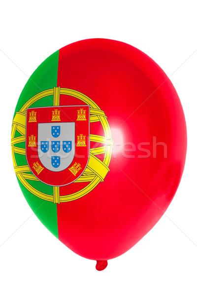 バルーン フラグ ポルトガル 幸せ 旅行 ストックフォト © vepar5