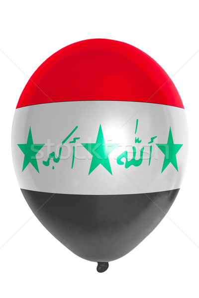 Balloon colored in  national flag of iraq    Stock photo © vepar5