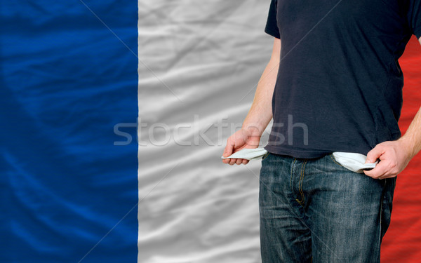recession impact on young man and society in france Stock photo © vepar5