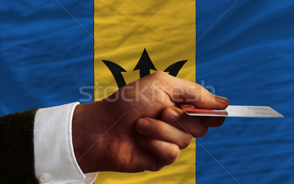 buying with credit card in barbados Stock photo © vepar5