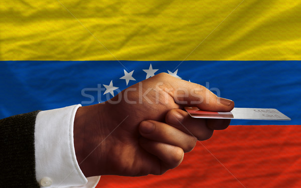 buying with credit card in venezuela Stock photo © vepar5