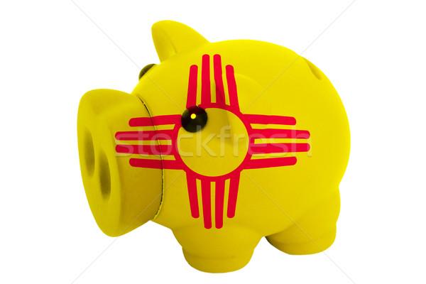 Zengin banka renkler bayrak amerikan Stok fotoğraf © vepar5
