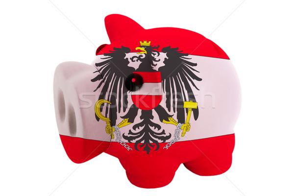 Riche banque couleurs pavillon Autriche Photo stock © vepar5