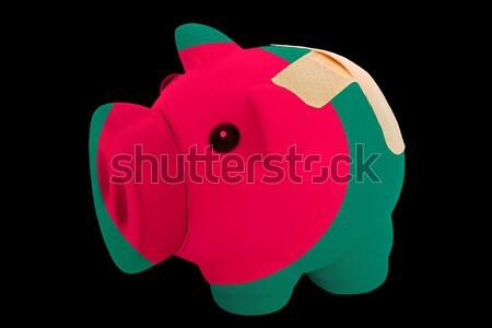 Rico banco cores bandeira Bangladesh Foto stock © vepar5