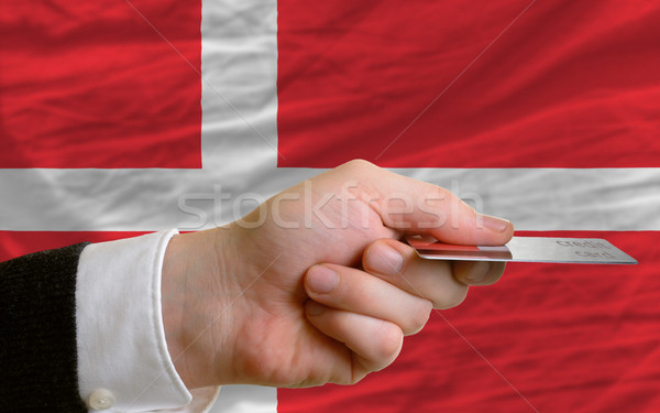 buying with credit card in denmark Stock photo © vepar5