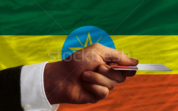покупке кредитных карт Эфиопия человека из Сток-фото © vepar5