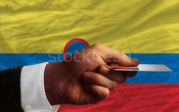 покупке кредитных карт Колумбия человека из Сток-фото © vepar5