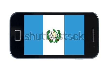 Okostelefon zászló amerikai Nyugat-Virginia telefon utazás Stock fotó © vepar5