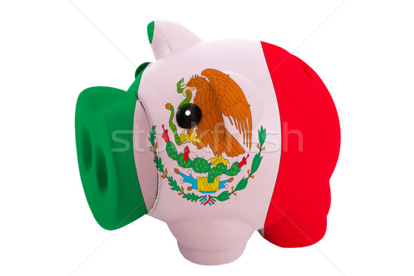 Riche banque couleurs pavillon Mexique Photo stock © vepar5